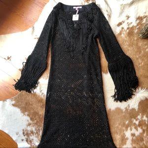 Calypso Macrame Maxi Dress